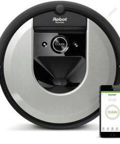 Irobot Roomba I7150 Robotdammsugare - Svart/silver