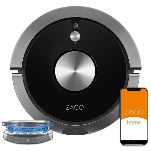 Zaco A9s Pro Robotdammsugare - Svart/silver